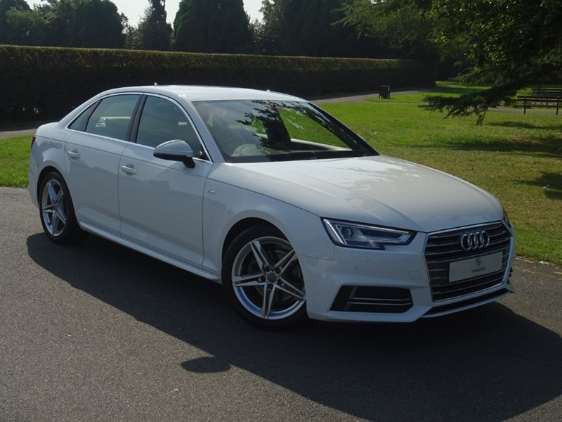 used Audi A4 TFSI S LINE in in-essex