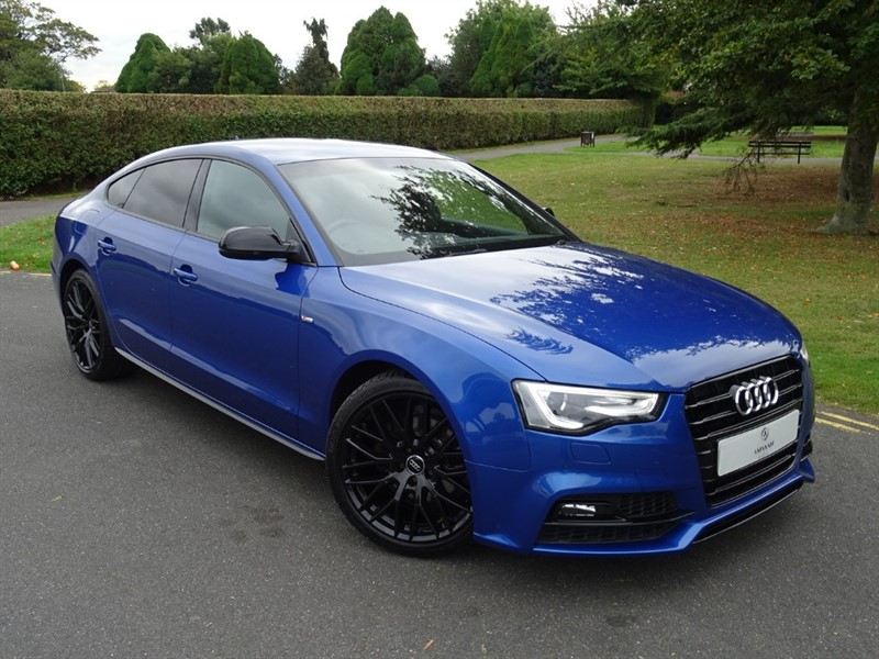 used Audi A5 TDI S LINE BLACK EDITION PLUS in in-essex