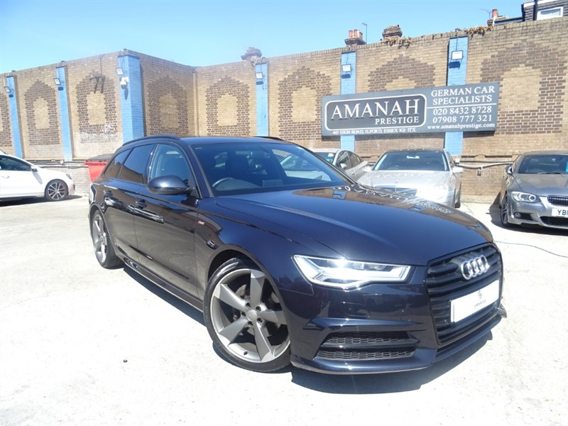 used Audi A6 Avant TDI ULTRA S LINE BLACK EDITION in in-essex
