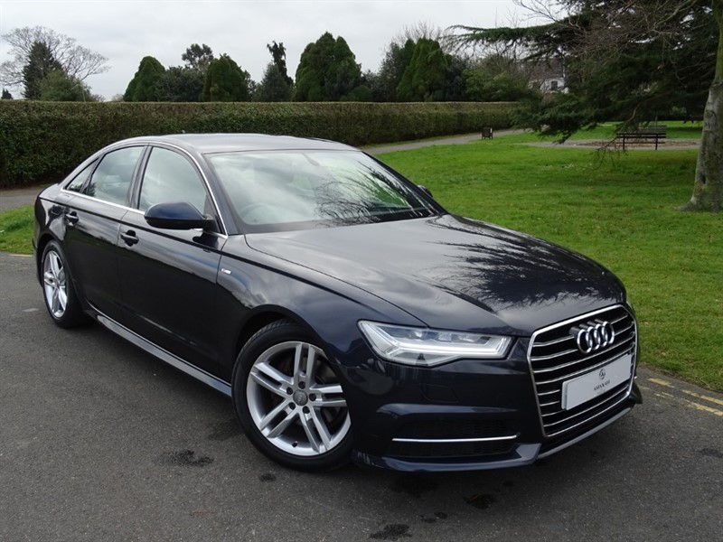 used Audi A6 Saloon TDI ULTRA S LINE in in-essex
