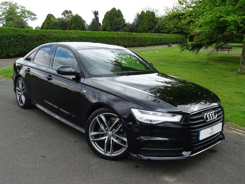 used Audi A6 Saloon TDI ULTRA S LINE BLACK EDITION in in-essex