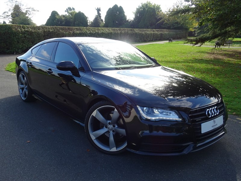 used Audi A7 TDI QUATTRO S LINE BLACK EDITION in in-essex