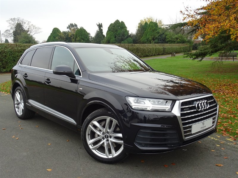 used Audi Q7 TDI QUATTRO S LINE in in-essex
