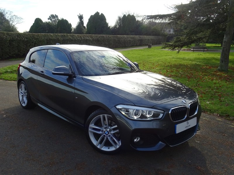 used BMW 118d M SPORT in in-essex