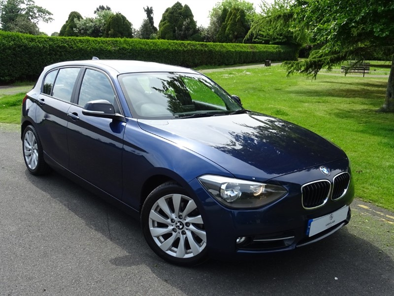 used BMW 118d SPORT in in-essex
