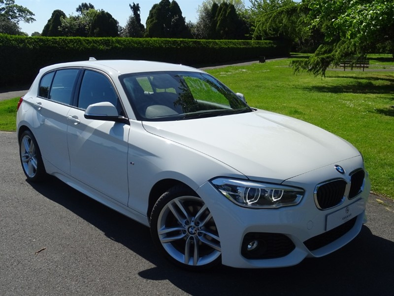 used BMW 120d M SPORT in in-essex