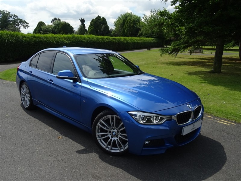used BMW 330d M SPORT in in-essex
