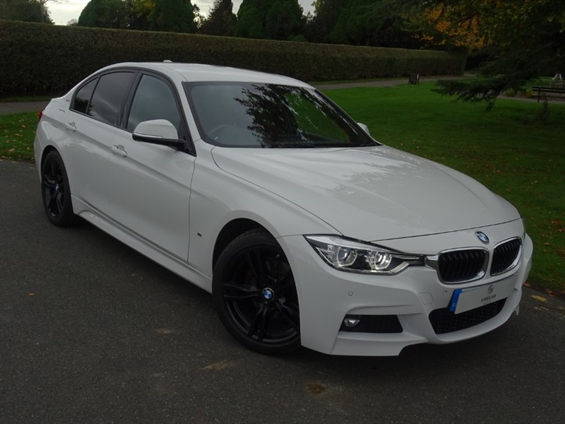 used BMW 330e M SPORT in in-essex