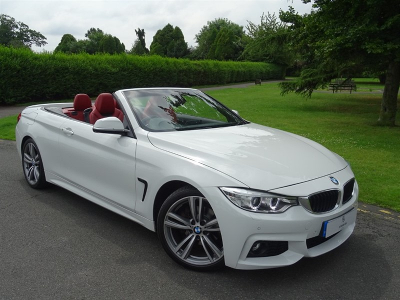 used BMW 420d M SPORT CONVERTIBLE in in-essex