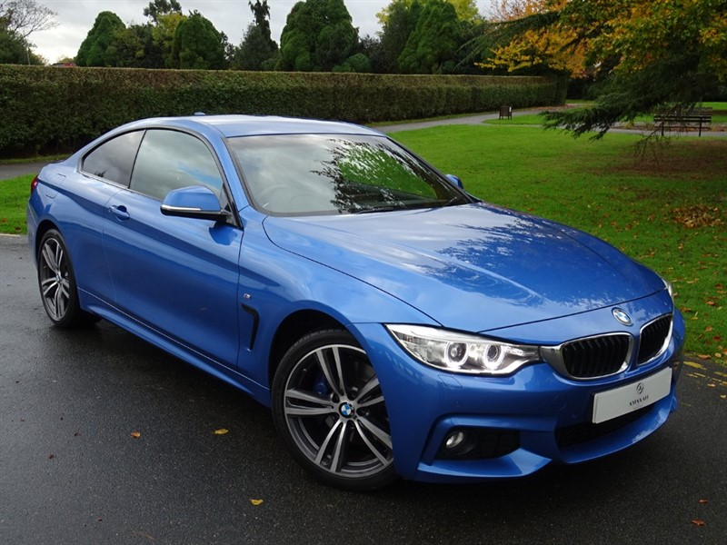 used BMW 420d XDRIVE M SPORT in in-essex