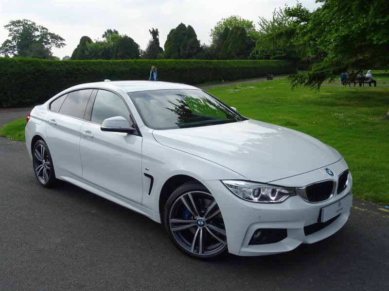used BMW 420d XDRIVE M SPORT GRAN COUPE in in-essex