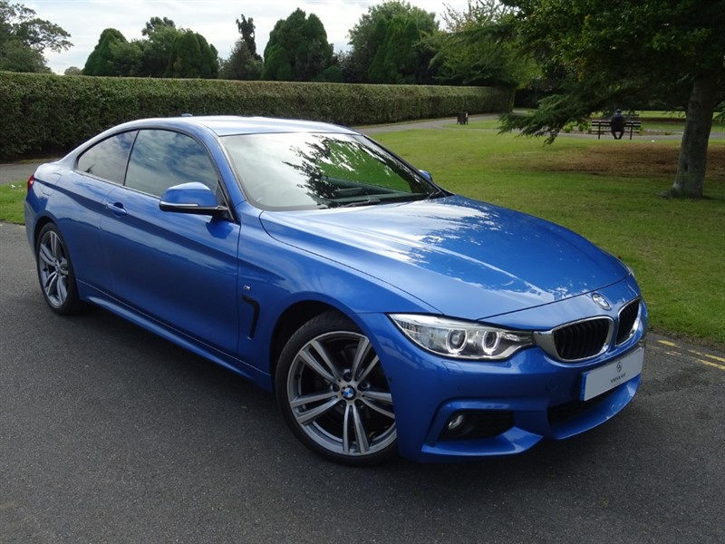 used BMW 420d M SPORT in in-essex