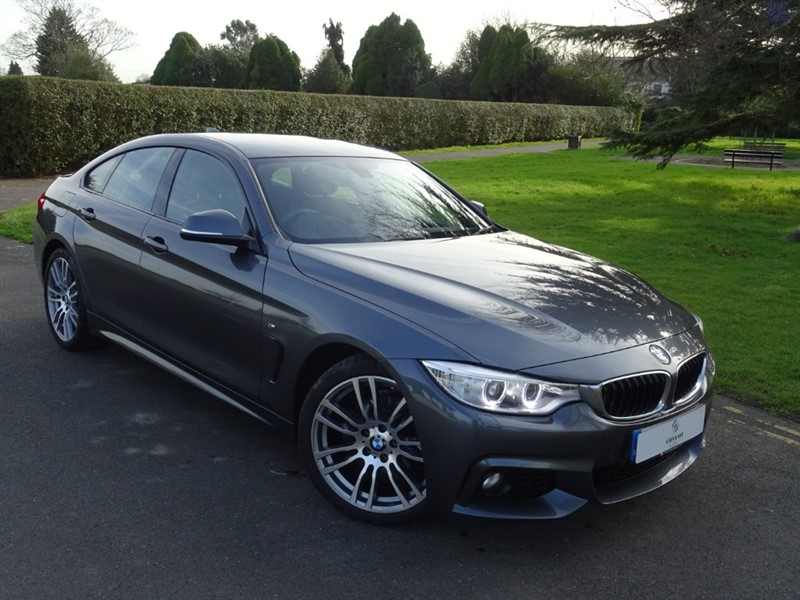 used BMW 420d M SPORT GRAN COUPE in in-essex