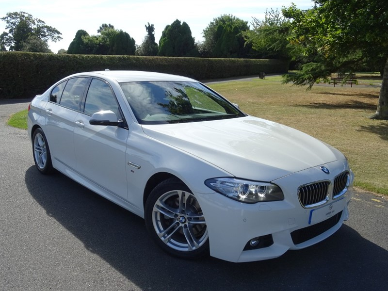 used BMW 518d M SPORT in in-essex
