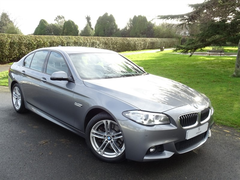 used BMW 520d M SPORT in in-essex