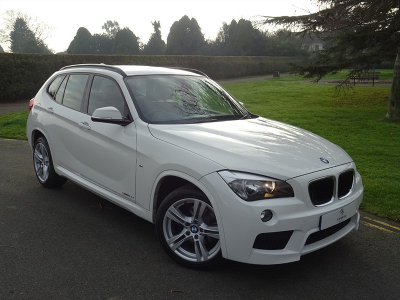 used BMW X1 SDRIVE18D M SPORT in in-essex