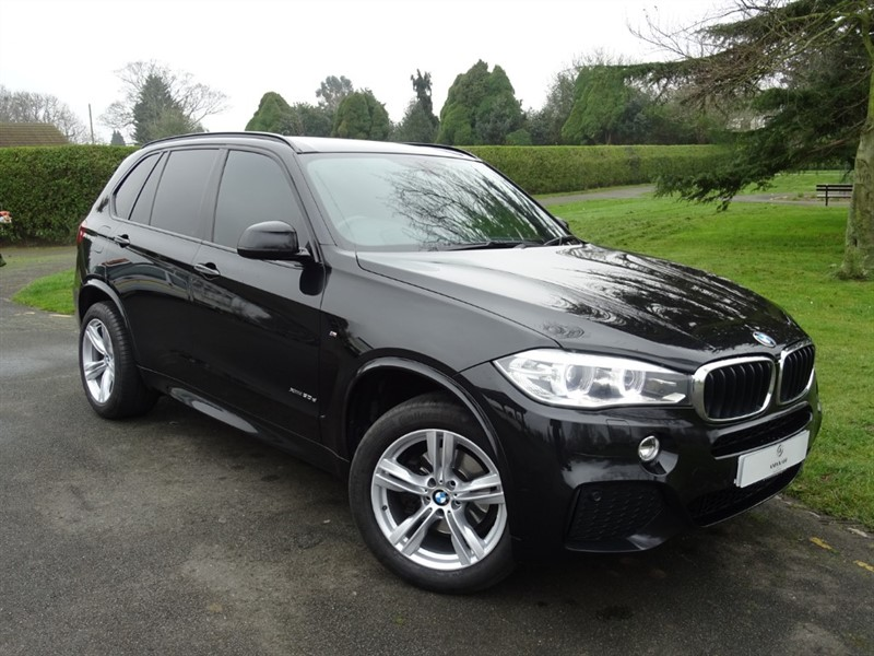 used BMW X5 XDRIVE30D M SPORT in in-essex
