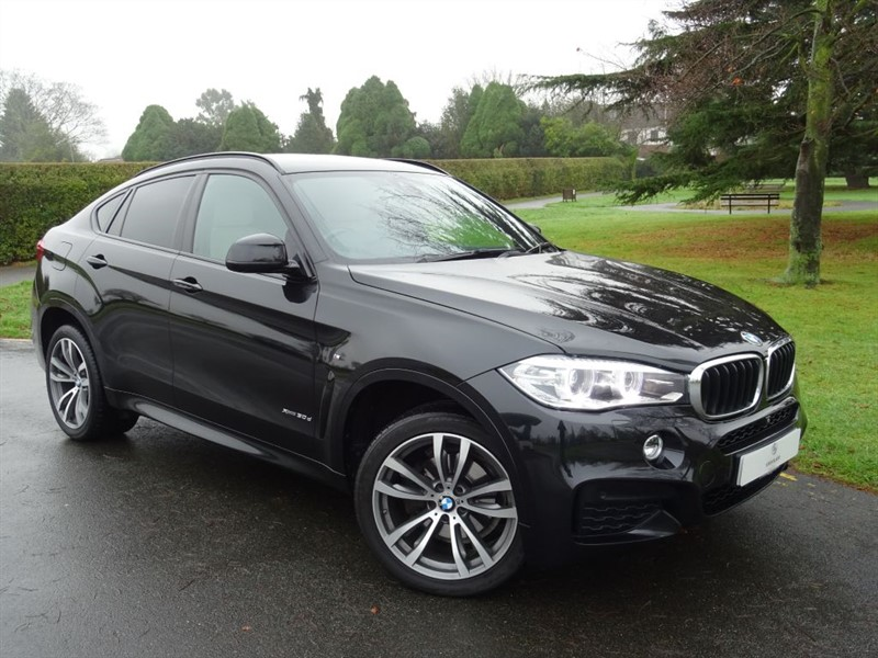 used BMW X6 XDRIVE30D M SPORT in in-essex