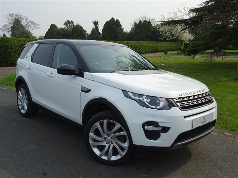 used Land Rover Discovery Sport TD4 SE TECH in in-essex
