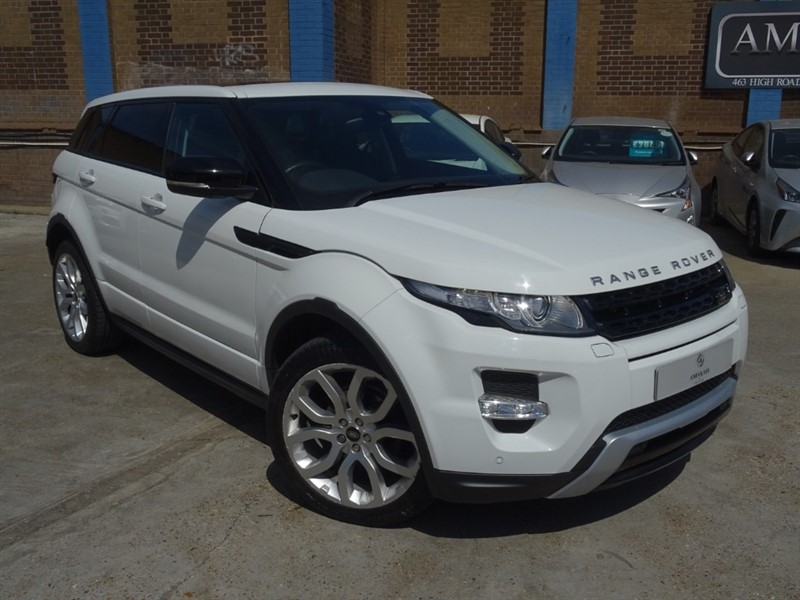 used Land Rover Range Rover Evoque SD4 DYNAMIC in in-essex