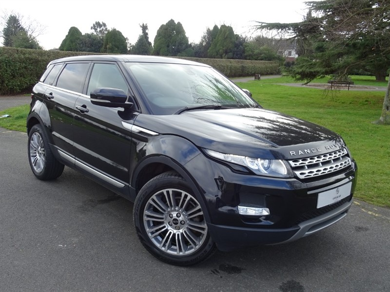 used Land Rover Range Rover Evoque SD4 PRESTIGE in in-essex