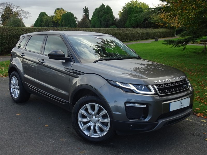 used Land Rover Range Rover Evoque TD4 SE TECH in in-essex