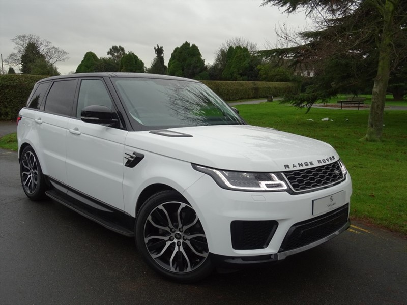 used Land Rover Range Rover Sport SDV6 HSE in in-essex