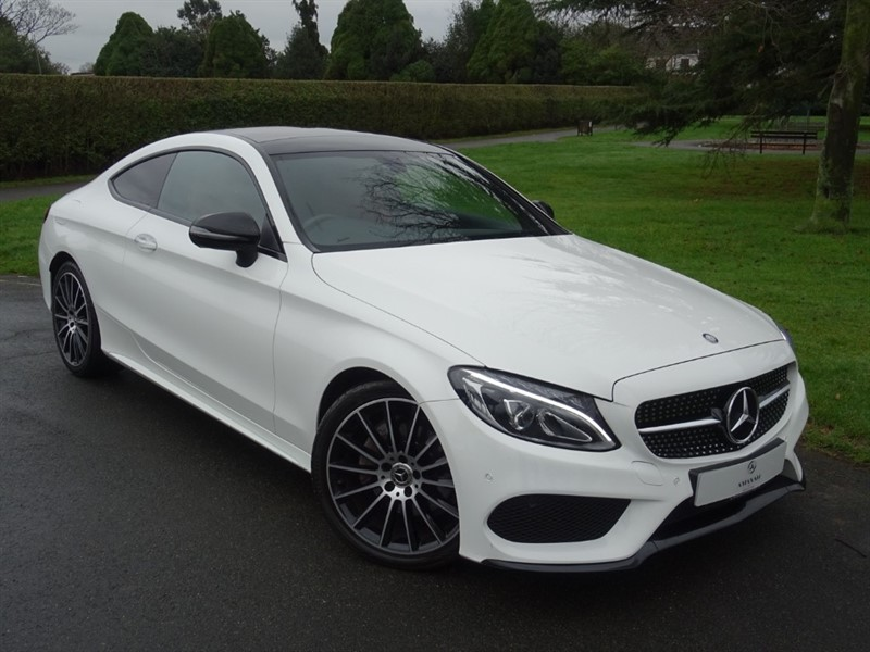 used Mercedes C220 D AMG LINE PREMIUM in in-essex