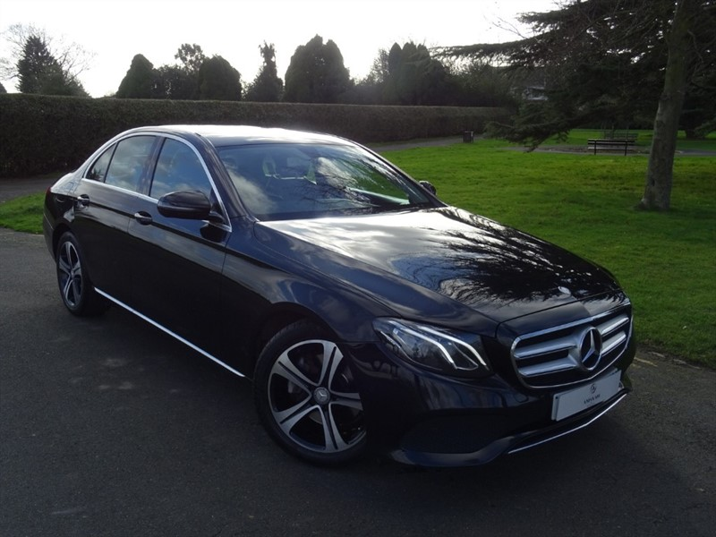 used Mercedes E220 D SE in in-essex