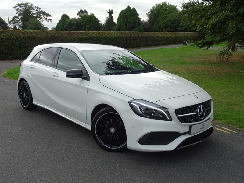used Mercedes A180 D AMG LINE PREMIUM in in-essex