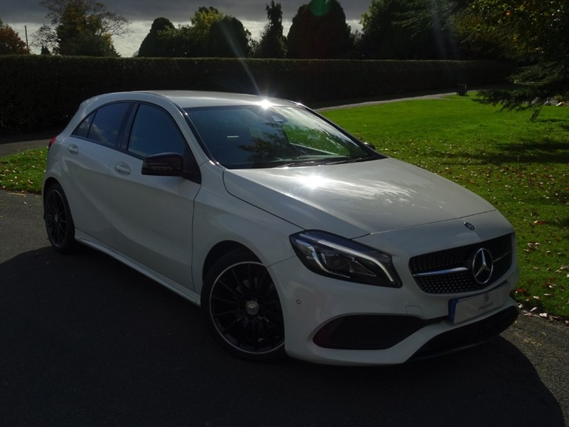 used Mercedes A200 D AMG LINE PREMIUM in in-essex