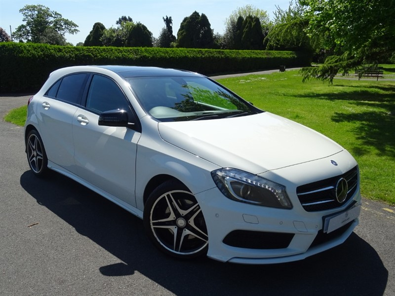used Mercedes A220 CDI BLUEEFFICIENCY AMG SPORT in in-essex