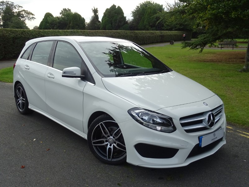 used Mercedes B180 D AMG LINE in in-essex