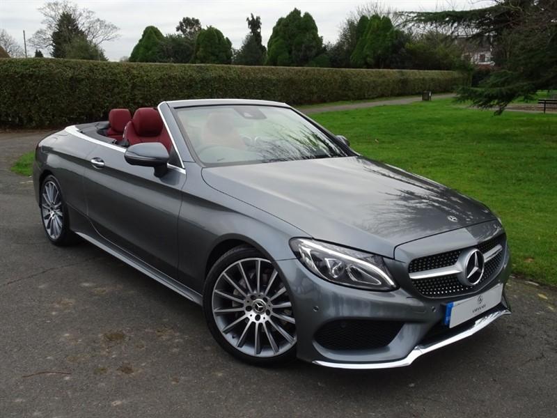 used Mercedes C220 D AMG LINE PREMIUM PLUS in in-essex
