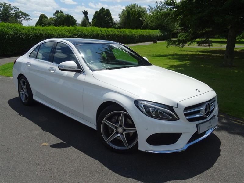 used Mercedes C220 CDI BLUETEC AMG LINE PREMIUM PLUS in in-essex