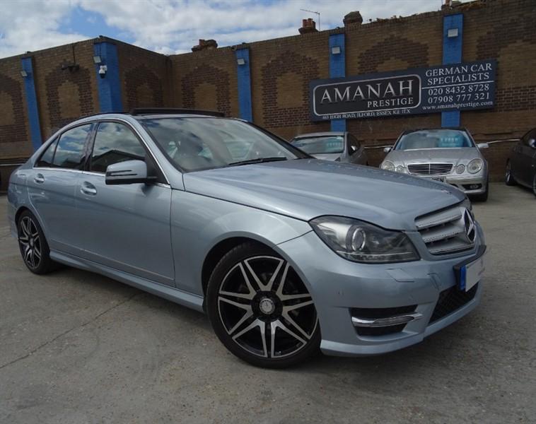 used Mercedes C220 CDI BLUEEFFICIENCY AMG SPORT PLUS in in-essex