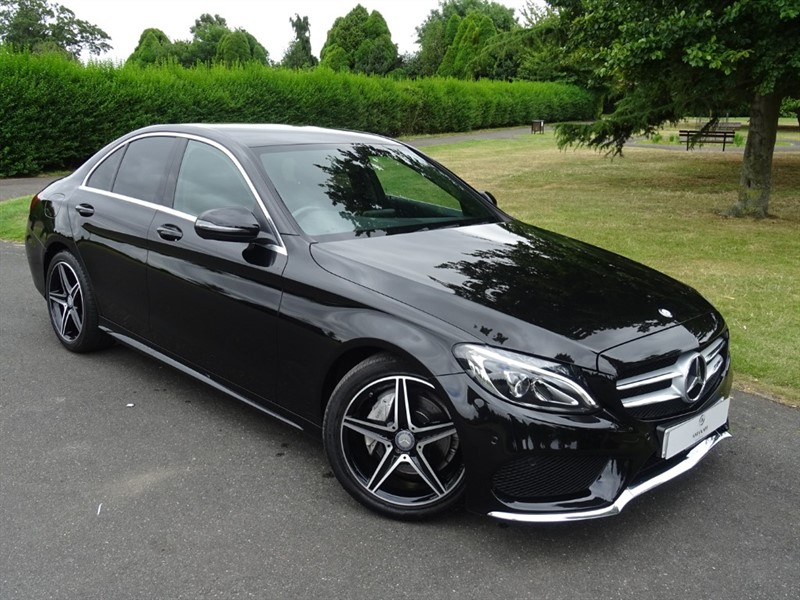 used Mercedes C220 D AMG LINE in in-essex