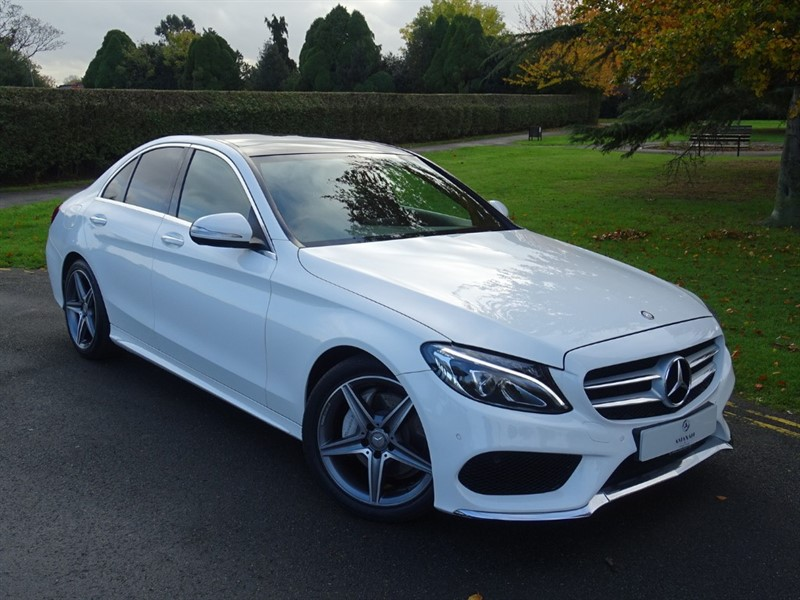 used Mercedes C220 CDI BLUETEC AMG LINE PREMIUM in in-essex