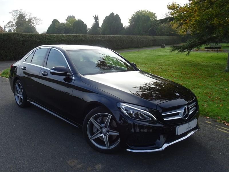 used Mercedes C250 BLUETEC AMG LINE in in-essex