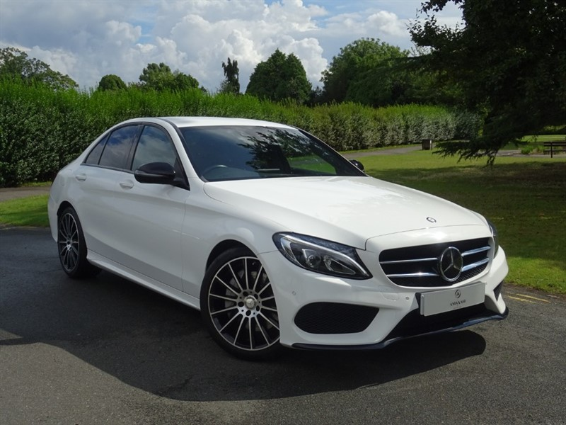 used Mercedes C250 D AMG LINE in in-essex