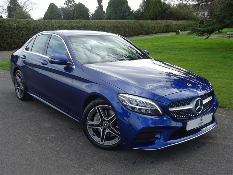 used Mercedes C300 AMG LINE in in-essex