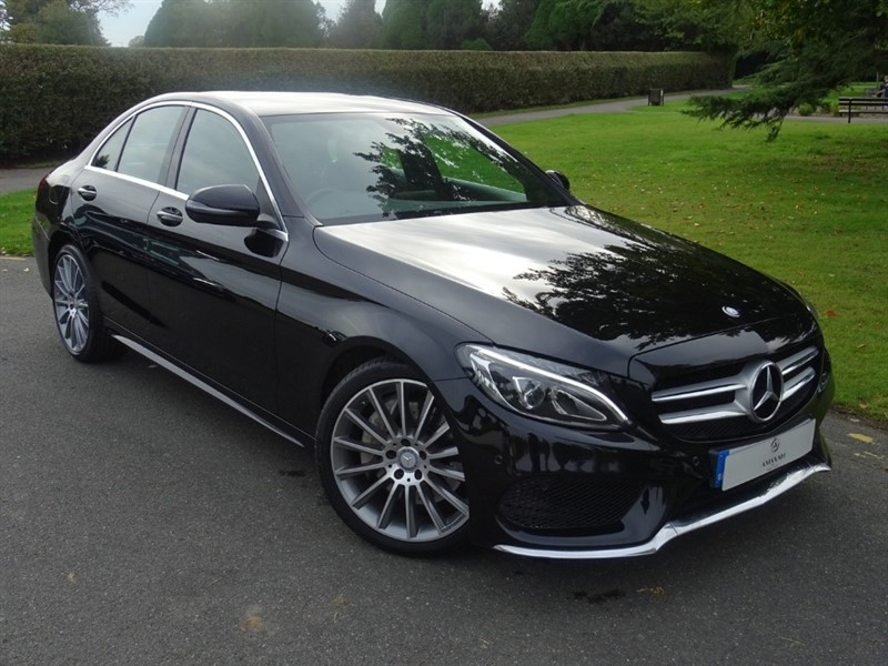 used Mercedes C300 H AMG LINE in in-essex