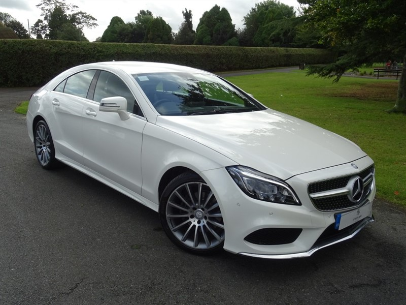 used Mercedes CLS220 CDI BLUETEC AMG LINE in in-essex