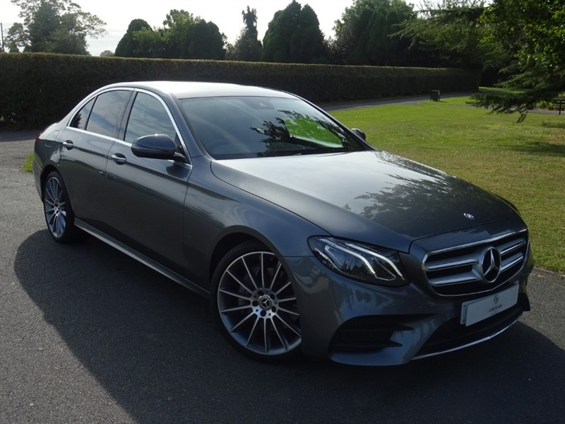 used Mercedes E200 D AMG LINE in in-essex