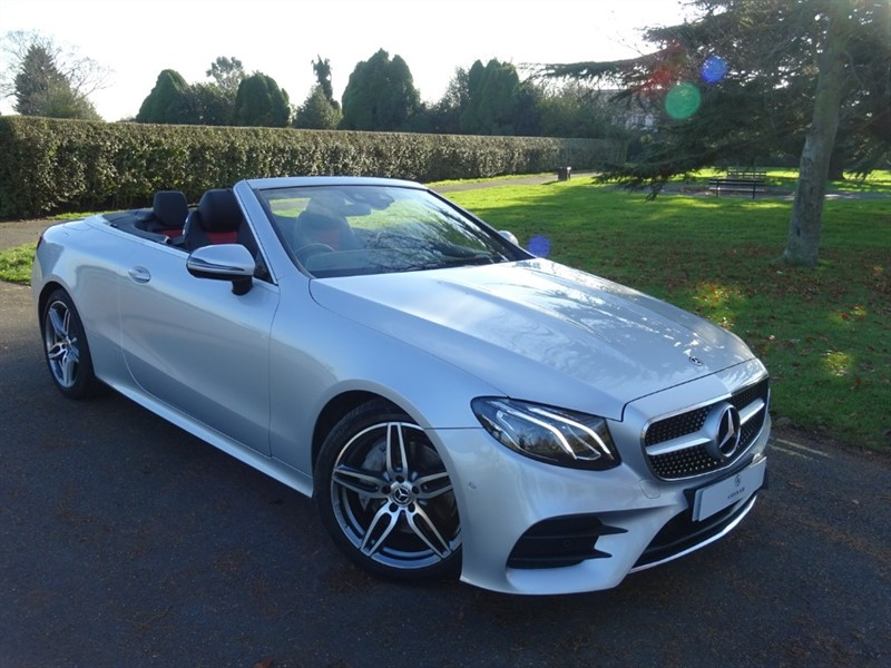 used Mercedes E220 D AMG LINE CABRIOLET in in-essex