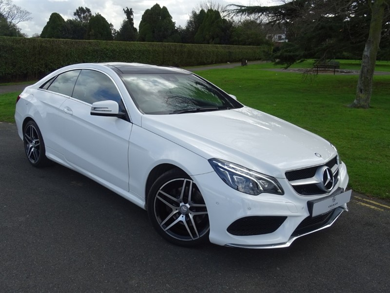 used Mercedes E220 BLUETEC AMG LINE in in-essex