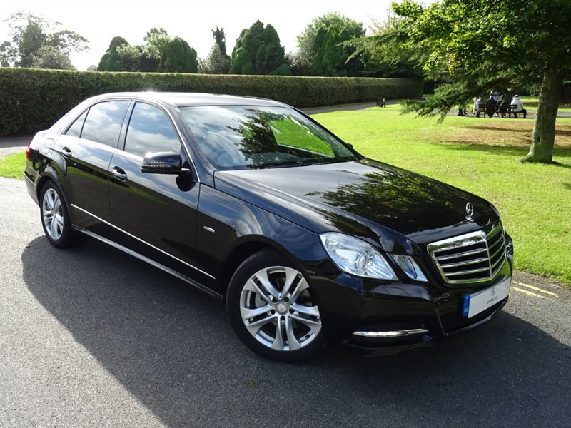 used Mercedes E220 CDI BLUEEFFICIENCY EXECUTIVE SE in in-essex