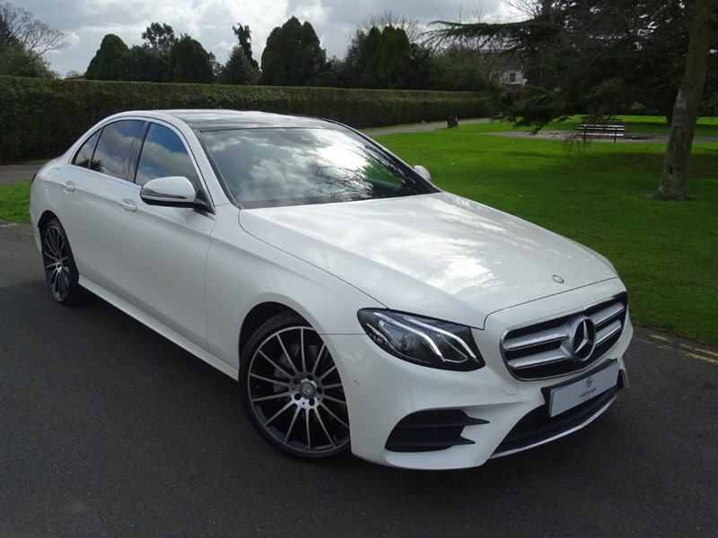 used Mercedes E220 D AMG LINE PREMIUM in in-essex