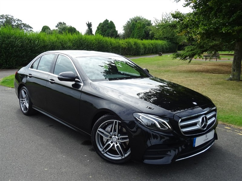 used Mercedes E220 D AMG LINE in in-essex