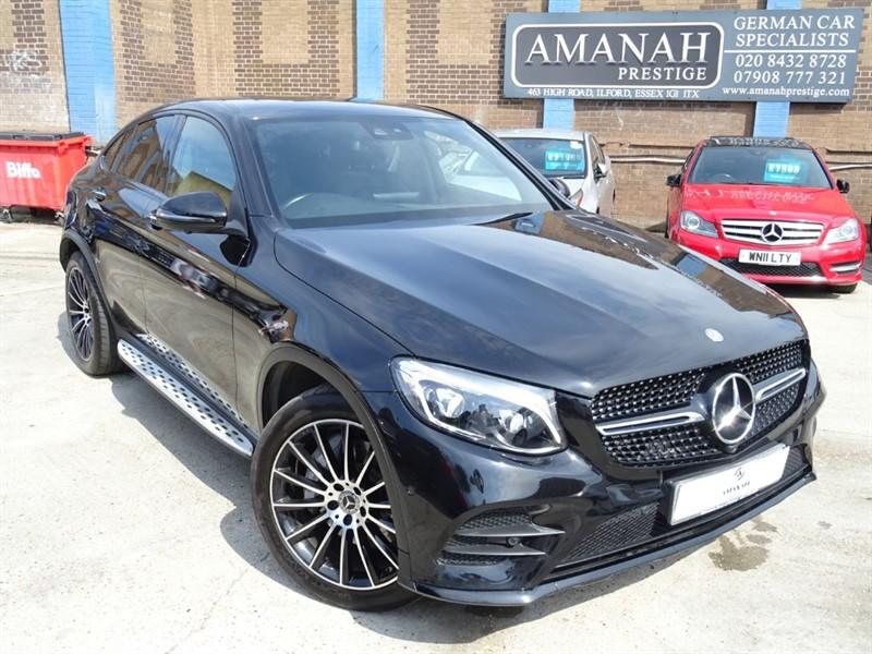 used Mercedes GLC220 D 4MATIC AMG LINE PREMIUM PLUS COUPE in in-essex